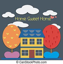 dom słodki dom