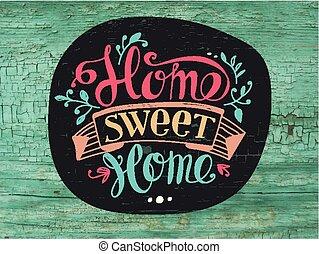 dom, słodki
