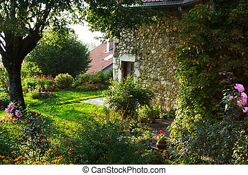 dom, stary, francuski