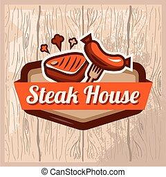 dom, stek, logo