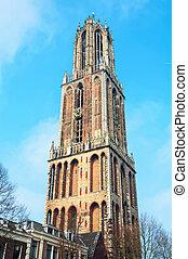 Dom Tower in Utrecht, Netherlands
