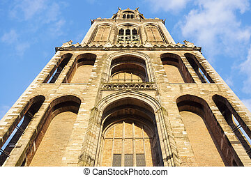 Dom Tower of Utrecht. Utrecht, South Holland, Netherlands.