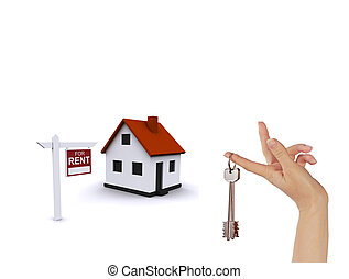 dom, trójwymiarowy