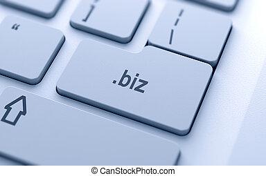 Domain name button