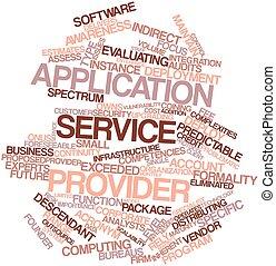 domanda, servizio, fornitore