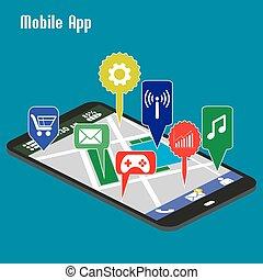domande, smartphone, mobile