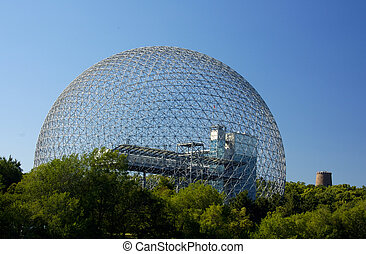 Dome Building - A Geodesic Dome Building