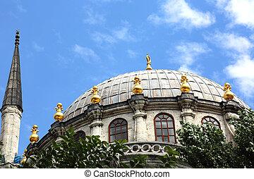 Dome Nusretiye Mosque Istanbul