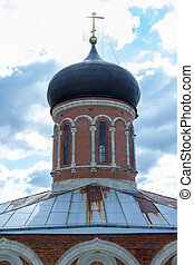 dome of ancient Russian Orthodox church