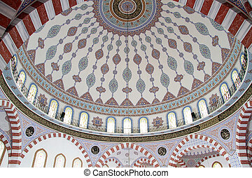 Dome of Great mosque in Urfa, Turkey