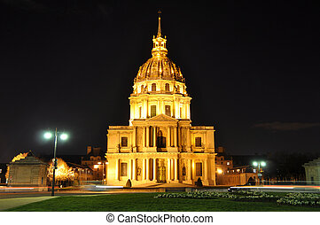 Dome of Les Invalides in Paris, France