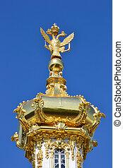 Dome of Peterhof palace