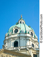 Dome of St. Charles's Church, Vienna, Austria
