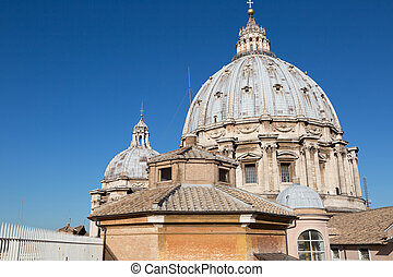 Dome of St Peters Cathedral, Vatican