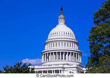 Dome of the Capitol building in Washington DC