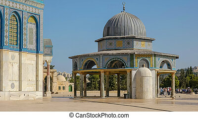 dome of the chain prayer house in jerusalem