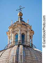 Dome of the church Sant'Agnese in Agone