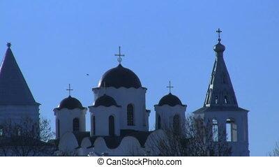 dome of the church, Veliky Novgorod