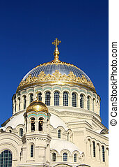 Dome of the Naval Cathedral of St. Nicholas