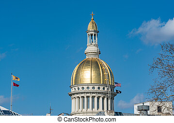 Dome of the New Jersey Capitol Building