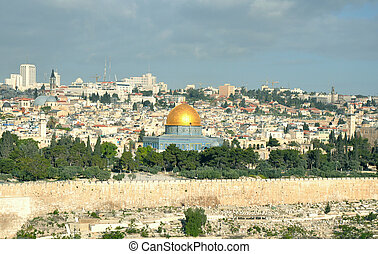 Dome of the Rock and Old City