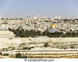 The Old City of Jerusalem.