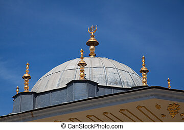 Dome of the Topkapi palace, Istanbul, Turkey