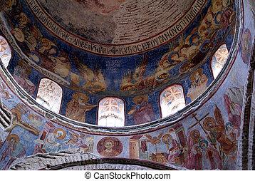 Dome - Saint Sophia in Trabzon, Turkey