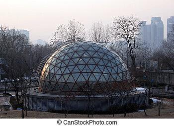 Dome - Subway dome at Noksapyeong Station, Seoul, South...