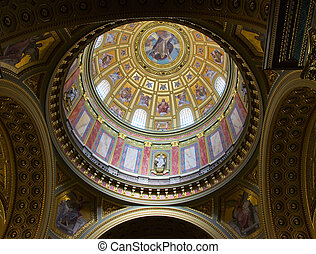 Dome with religious fresco