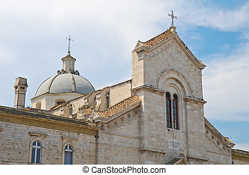domenico., st. 。, italy., puglia., giovinazzo., 教会
