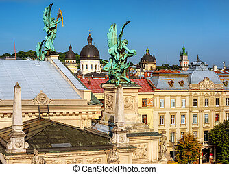 Old town of Lviv, Ukraine