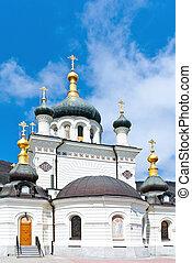 Foros church  - Domes Foros church in Crimea