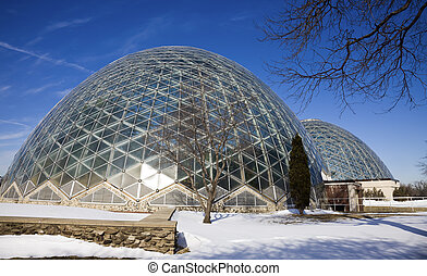 Domes in Milwaukee  - Domes in Milwaukee, Wisconsin, USA.