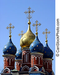 Domes in Old Moscow