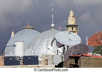 Domes of the Holy Sepulchre. Jerusalem