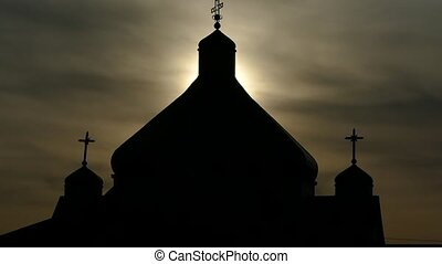 Domes of the Orthodox Church.