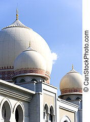 Domes of the Palace of Justice, Putrajaya, Malaysia.