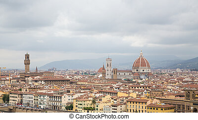 Domes Over Florence