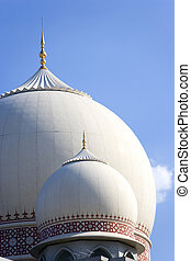 Domes of the Palace of Justice, Putrajaya, Malaysia.