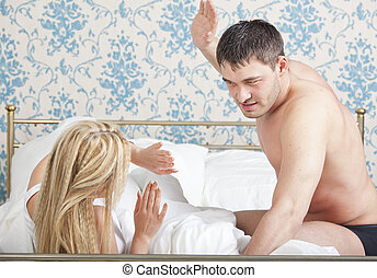 domestic abuse - couple problem - domestic violence or abuse