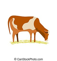 Domestic animal icon - Domestic Animal icon. Dairy cattle...
