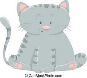 domestic cat cartoon character
