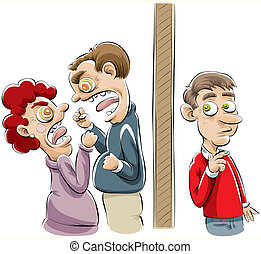 Domestic Dispute - A neighbour overhears a domestic dispute...