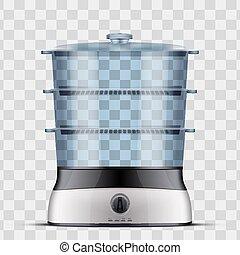 Domestic Food Steamer