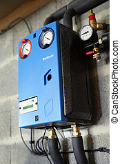 Domestic gas boiler
