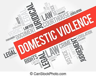 Domestic Violence word cloud