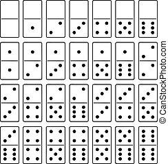 dominó, Conjunto
