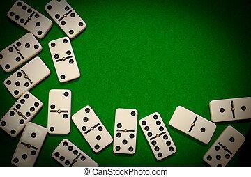 dominó, keret