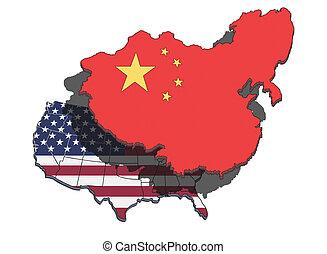 dominación, china